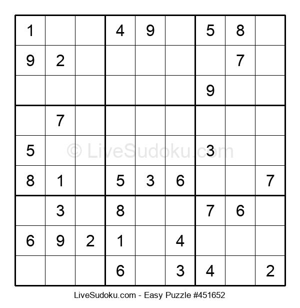 Beginners Puzzle #451652