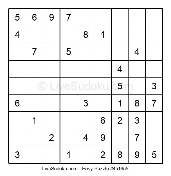 Beginners Puzzle #451655
