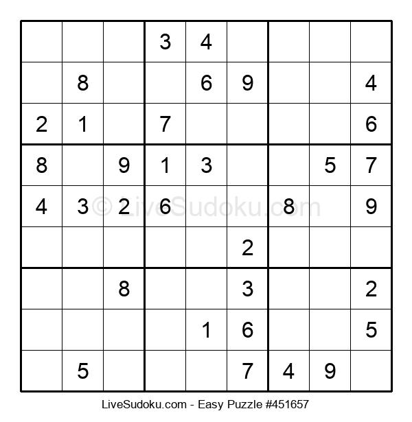 Beginners Puzzle #451657
