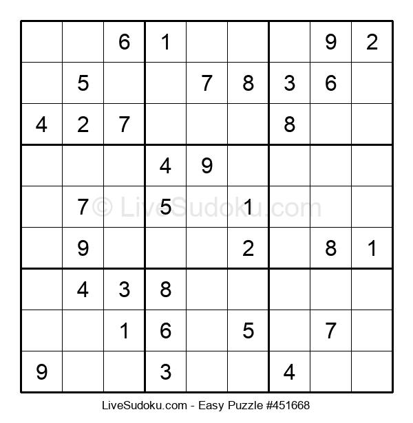 Beginners Puzzle #451668