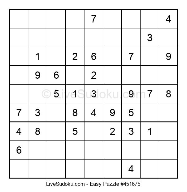 Beginners Puzzle #451675