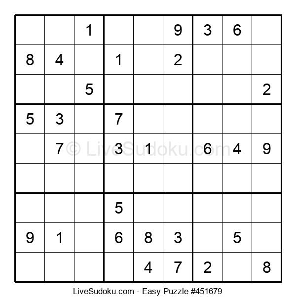 Beginners Puzzle #451679
