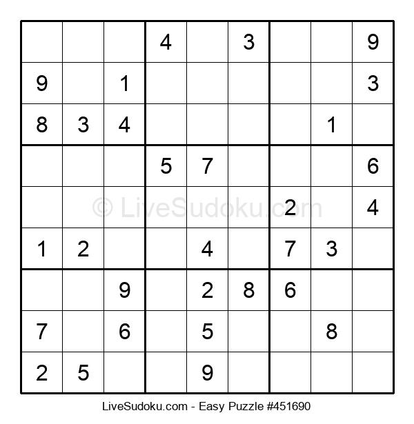 Beginners Puzzle #451690