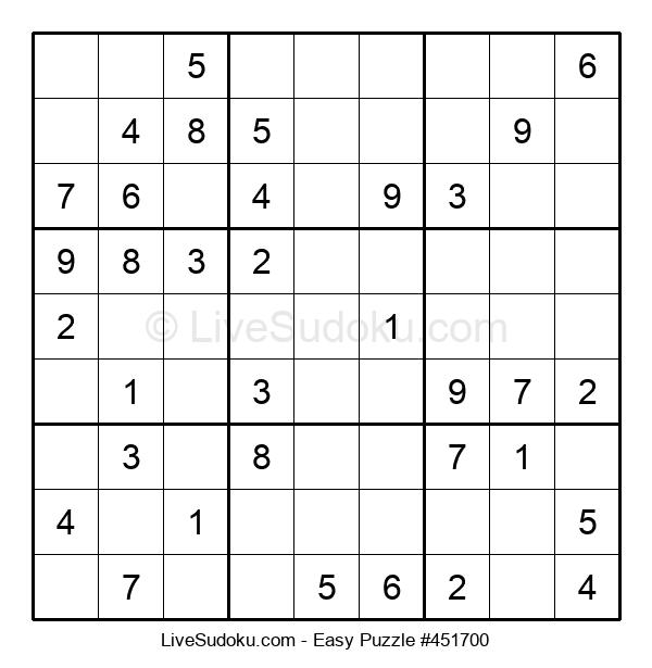 Beginners Puzzle #451700