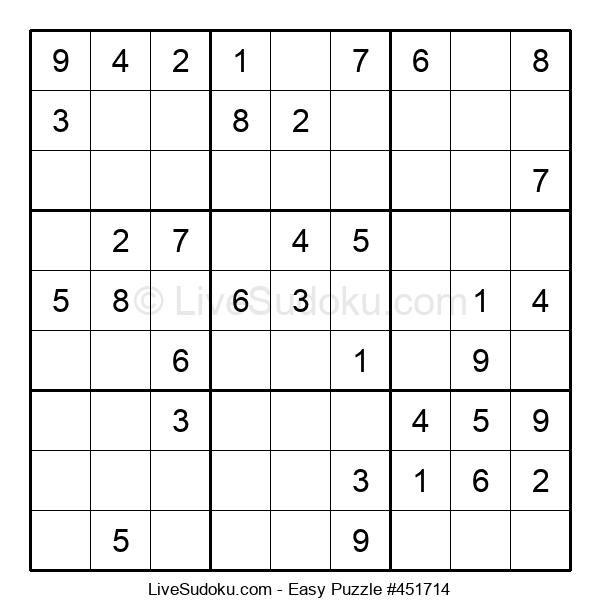 Beginners Puzzle #451714
