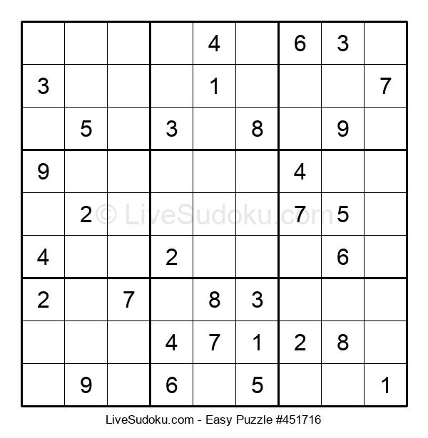 Beginners Puzzle #451716