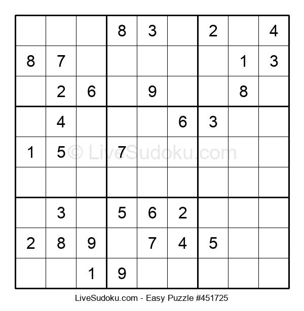 Beginners Puzzle #451725
