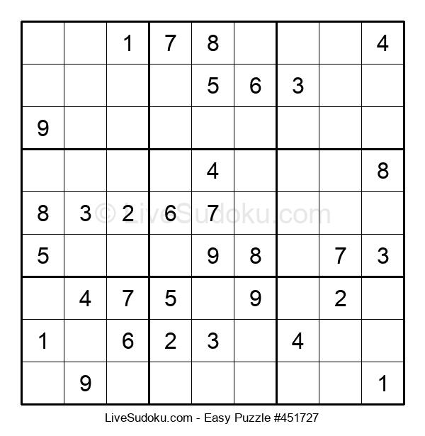 Beginners Puzzle #451727