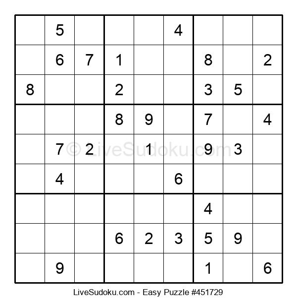 Beginners Puzzle #451729