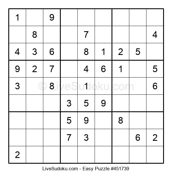 Beginners Puzzle #451739