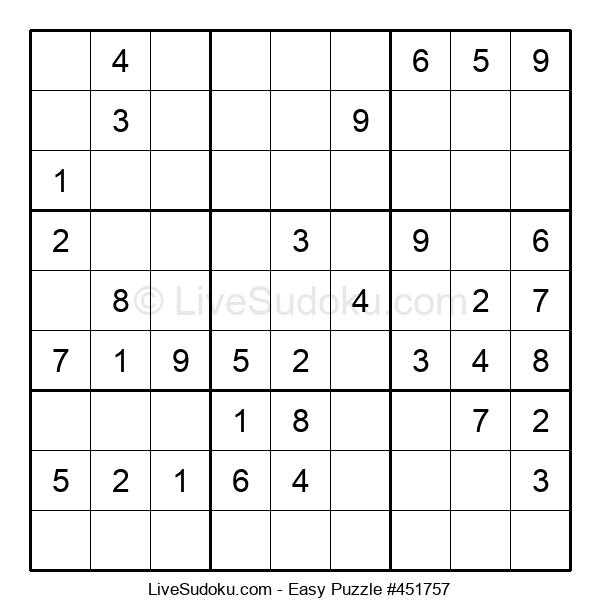 Beginners Puzzle #451757
