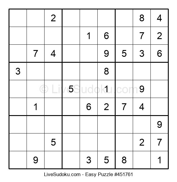Beginners Puzzle #451761
