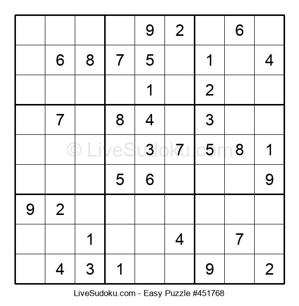 Beginners Puzzle #451768