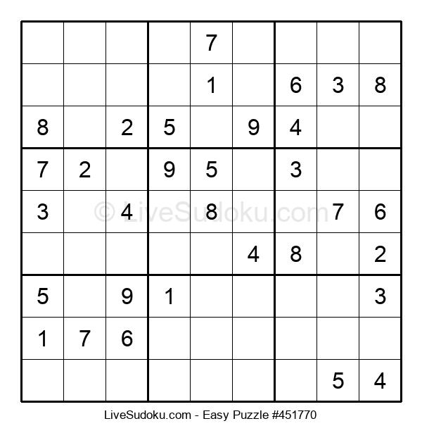 Beginners Puzzle #451770