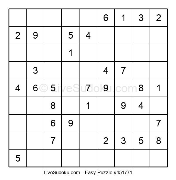 Beginners Puzzle #451771