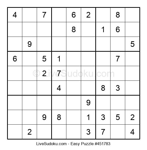 Beginners Puzzle #451783