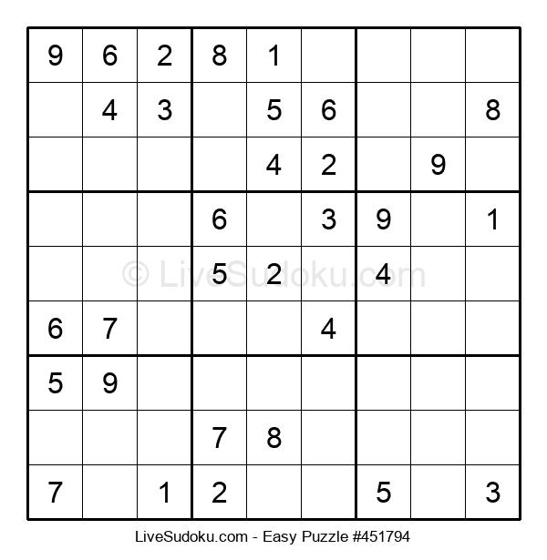 Beginners Puzzle #451794
