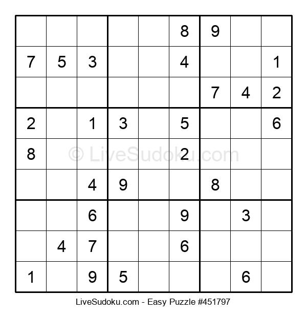 Beginners Puzzle #451797
