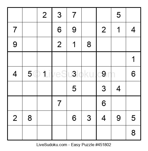 Beginners Puzzle #451802