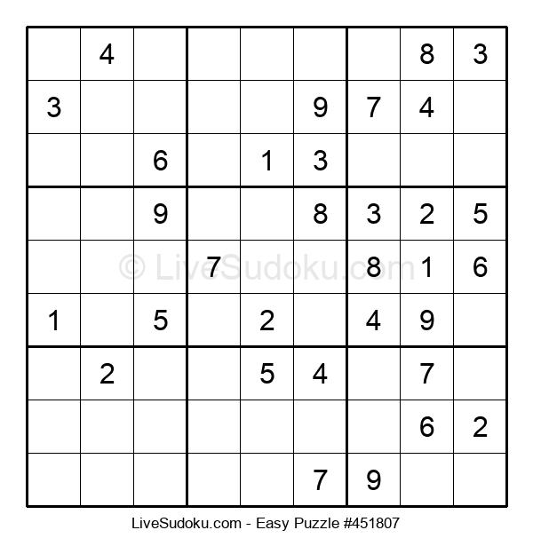 Beginners Puzzle #451807