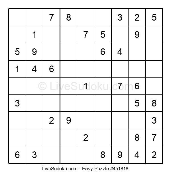 Beginners Puzzle #451818