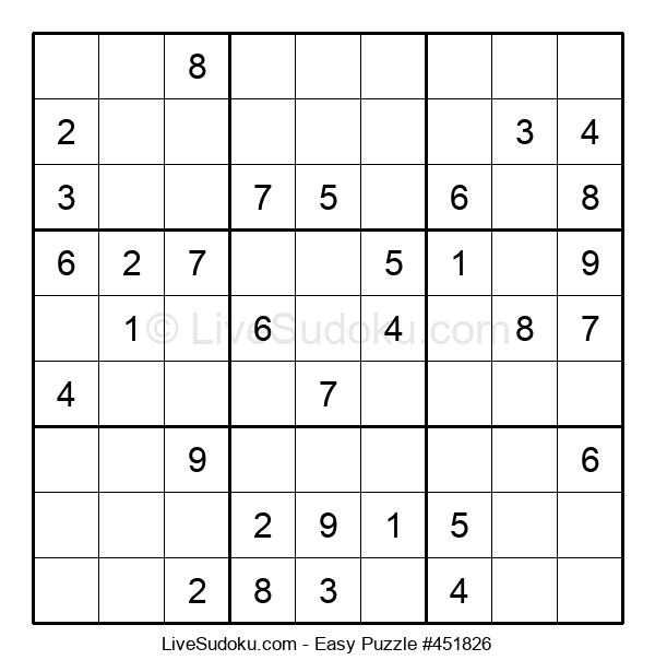 Beginners Puzzle #451826