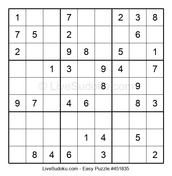 Beginners Puzzle #451835