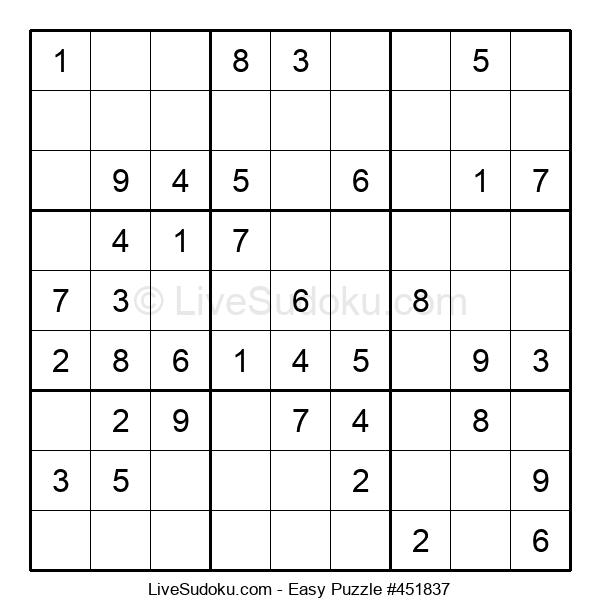 Beginners Puzzle #451837