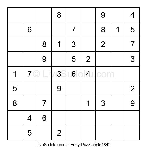 Beginners Puzzle #451842