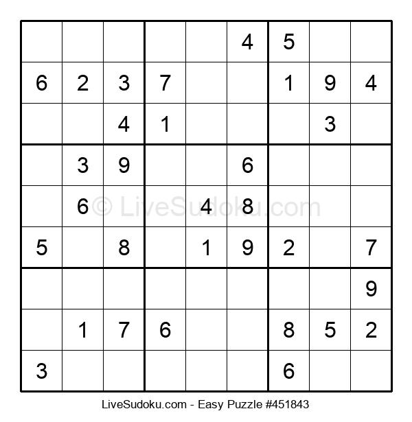 Beginners Puzzle #451843
