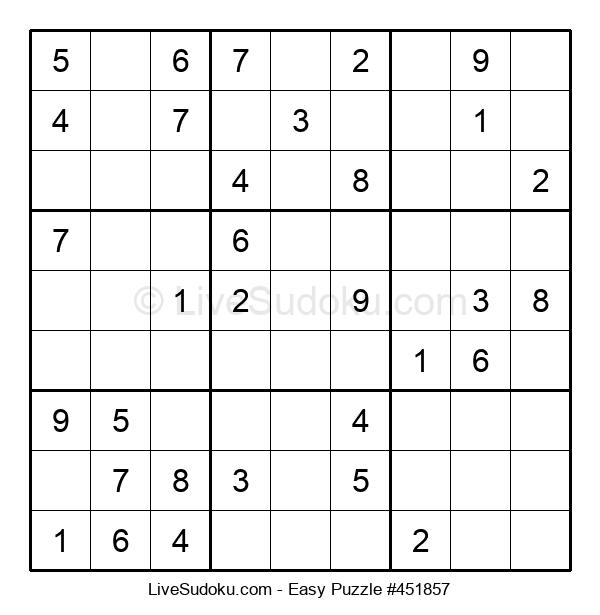 Beginners Puzzle #451857
