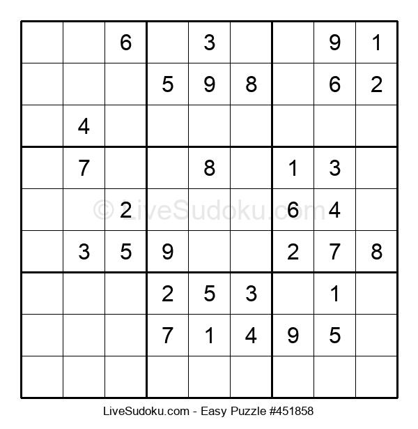 Beginners Puzzle #451858