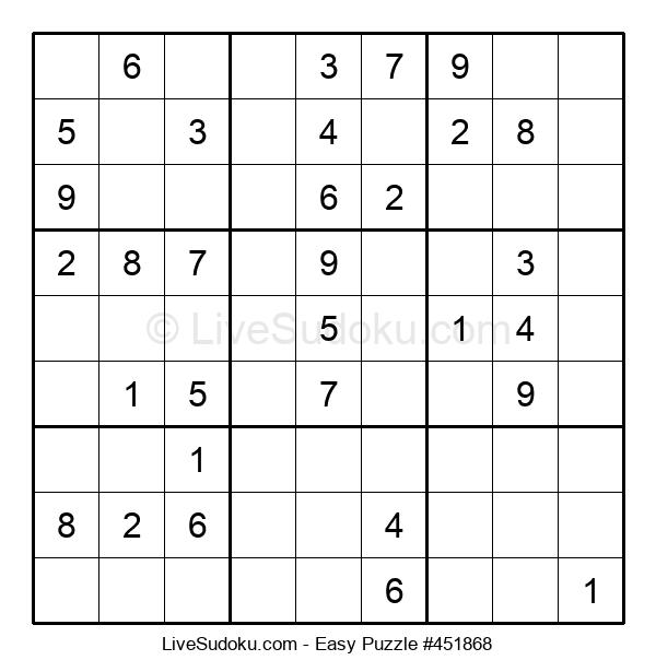 Beginners Puzzle #451868