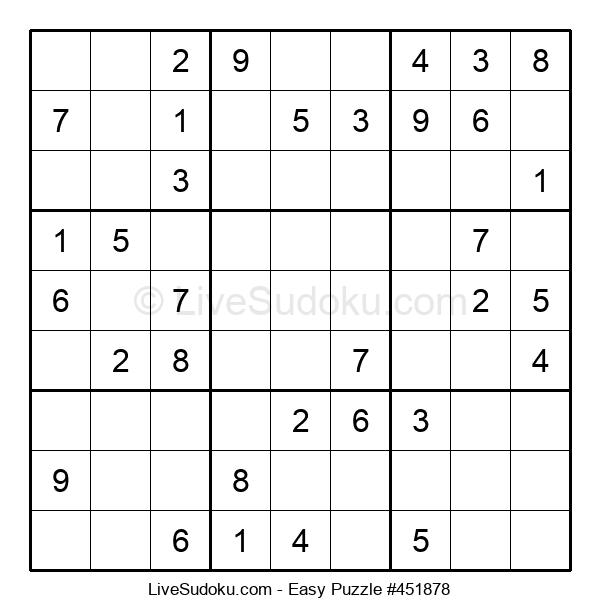 Beginners Puzzle #451878