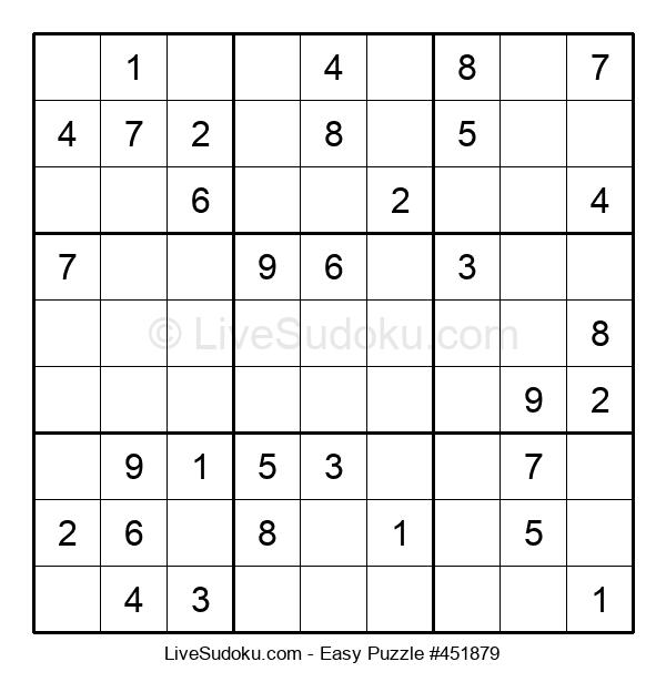 Beginners Puzzle #451879