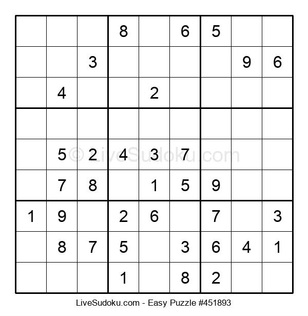 Beginners Puzzle #451893