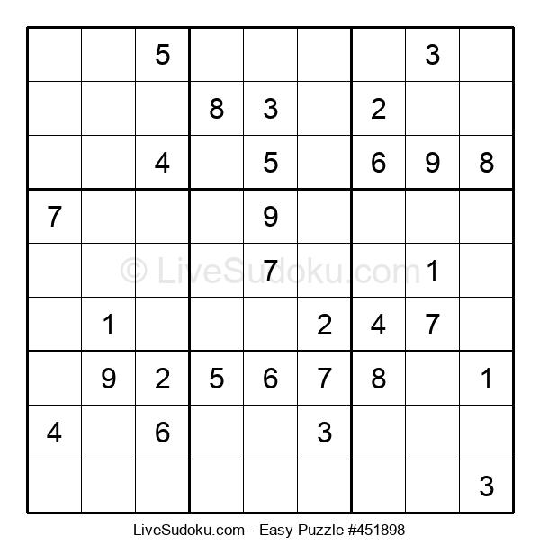 Beginners Puzzle #451898