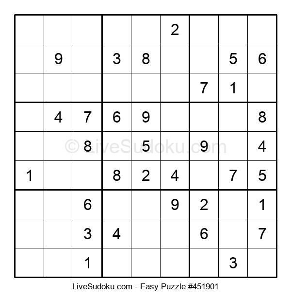Beginners Puzzle #451901