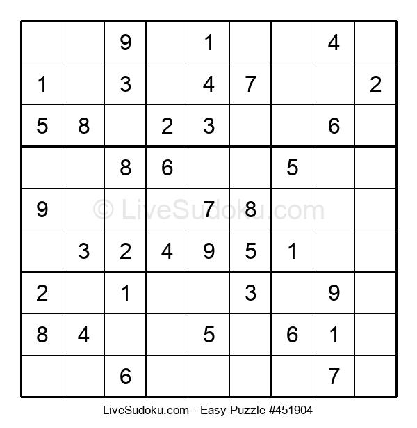 Beginners Puzzle #451904