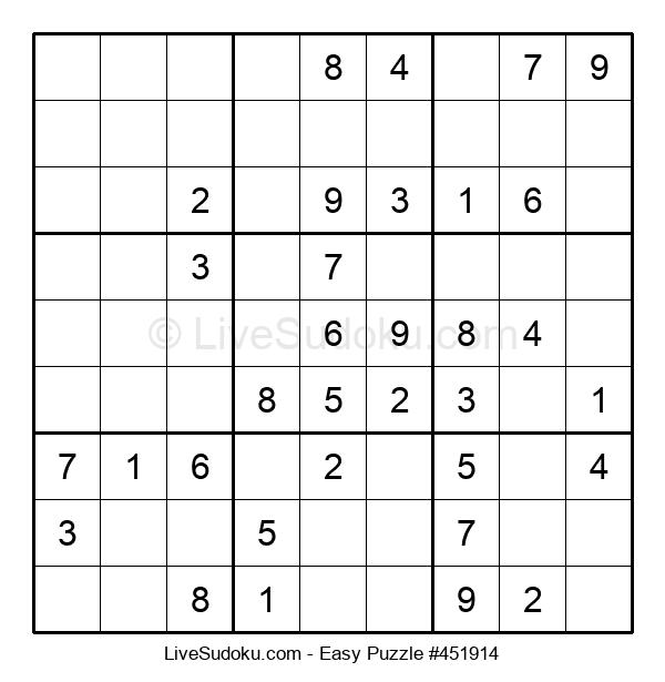 Beginners Puzzle #451914