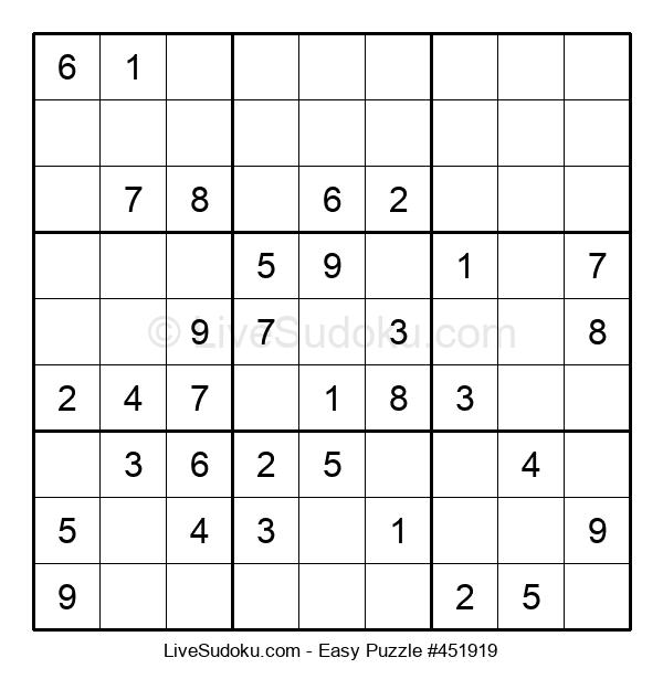 Beginners Puzzle #451919