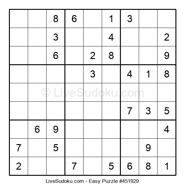 Beginners Puzzle #451929