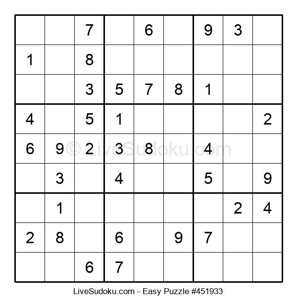 Beginners Puzzle #451933