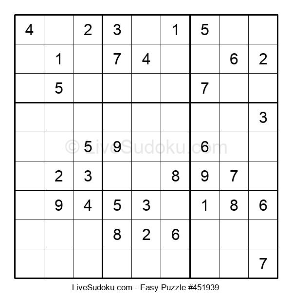 Beginners Puzzle #451939