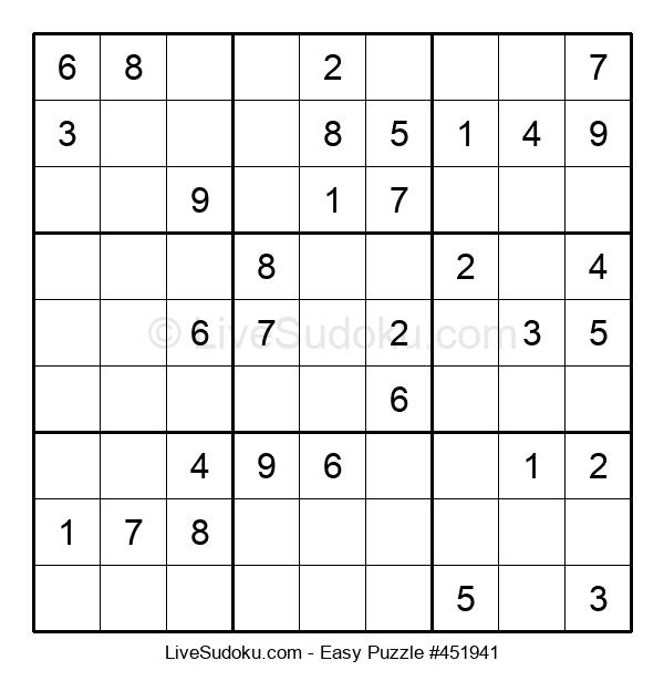 Beginners Puzzle #451941