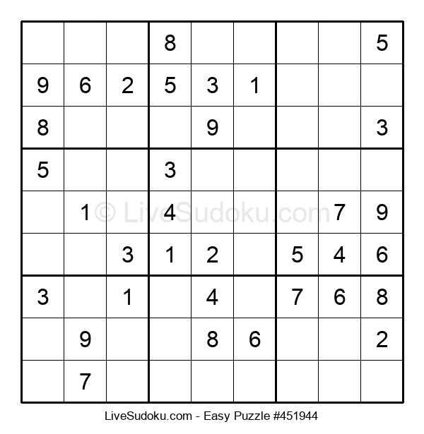 Beginners Puzzle #451944
