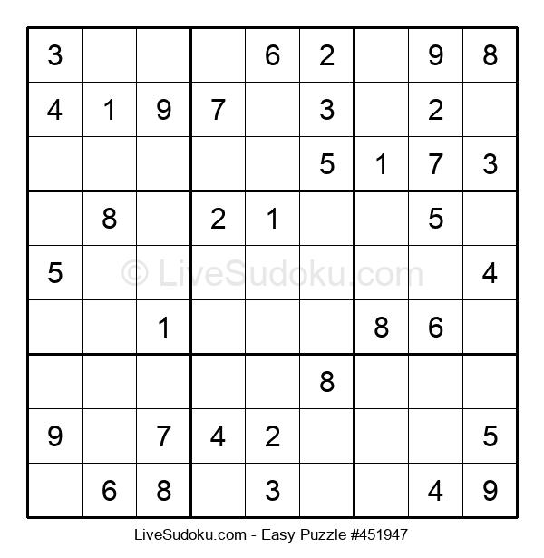 Beginners Puzzle #451947