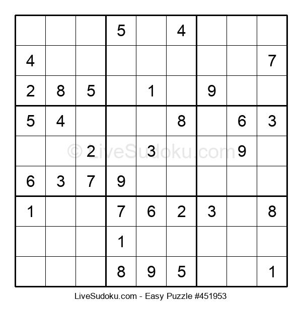 Beginners Puzzle #451953