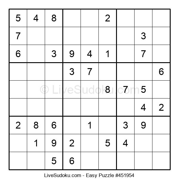 Beginners Puzzle #451954