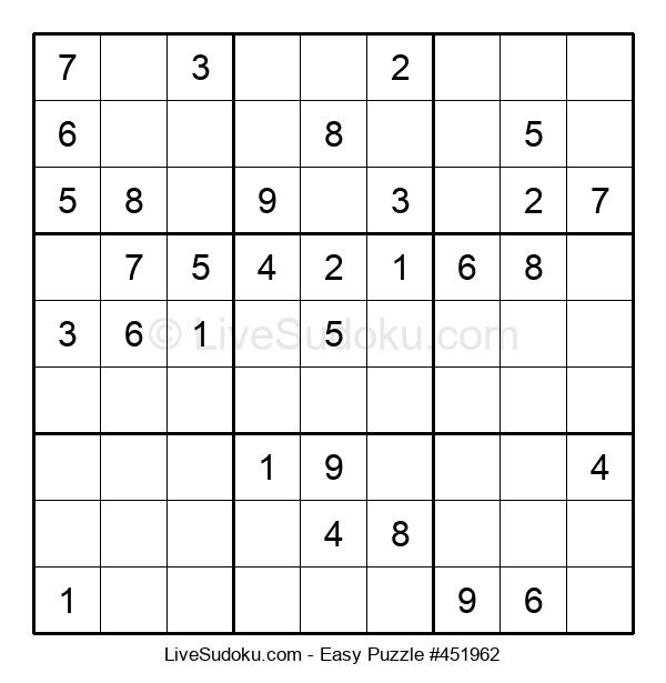 Beginners Puzzle #451962